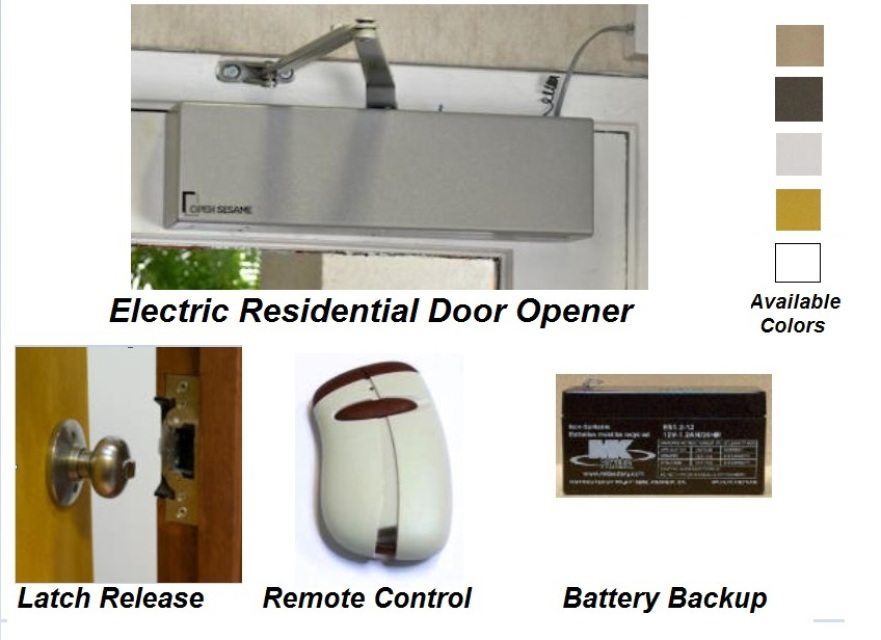 Open Sesame Electric Door Opener