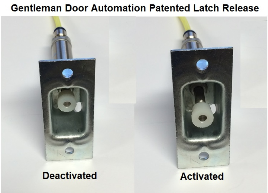 Pneumatic Latch Release Kit For 4 7 8 Quot Metal Jamb